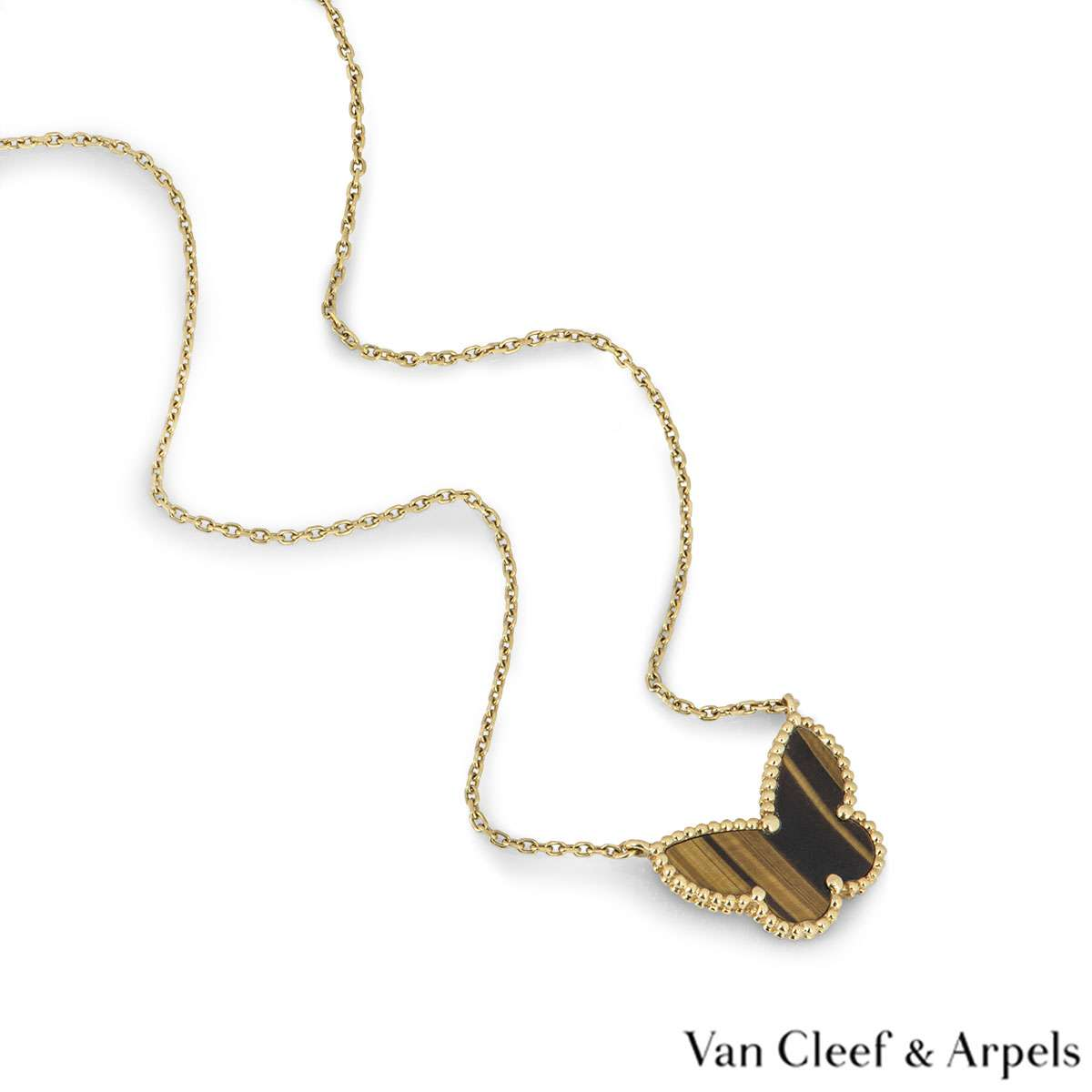 Van Cleef & Arpels Lucky Alhambra Butterfly Pendant VCARD98500